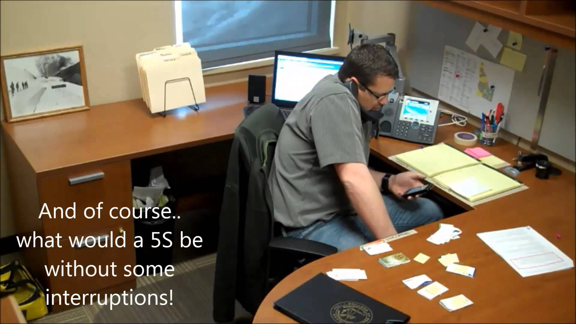 5s Lean Office Leanvlog