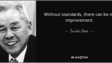 Without Standard - Taiichi Ohno