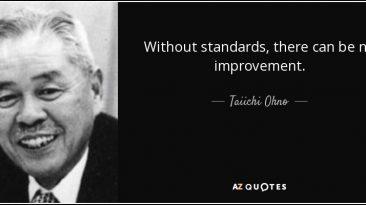 Without Standard - Taiichi Ohno