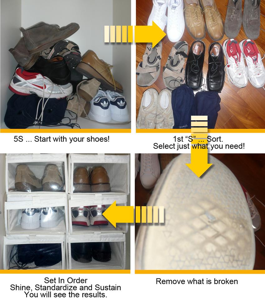5S Shoes