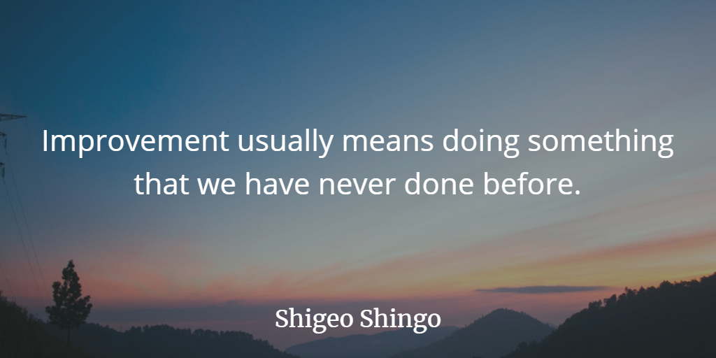 Improvements Means - Shingo