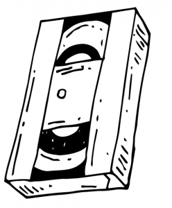 Old Vhas Video Tape Icon