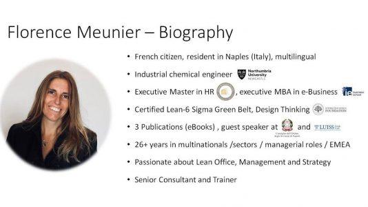 Florence Meunier CV